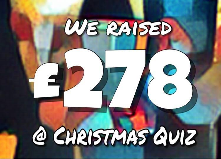we raised £278